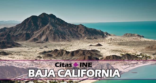 INE Baja California teléfonos y direcciones