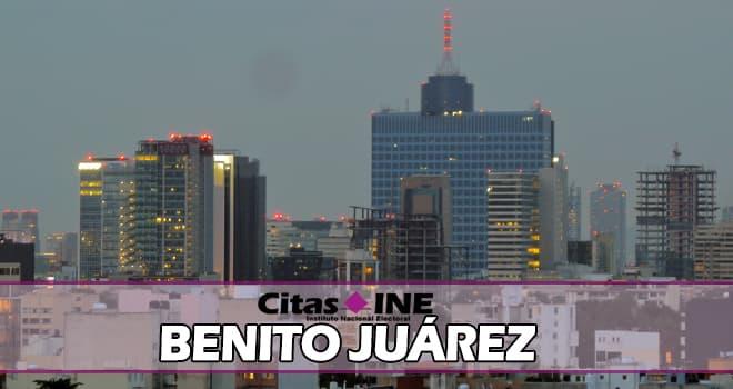 INE Benito Juárez teléfonos y direcciones