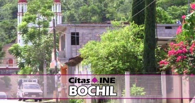INE Bochil teléfonos y direcciones