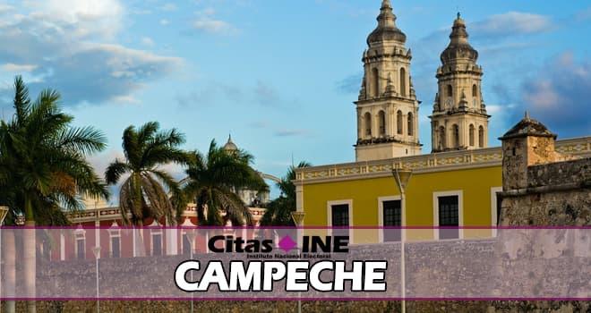 INE Campeche teléfonos y direcciones