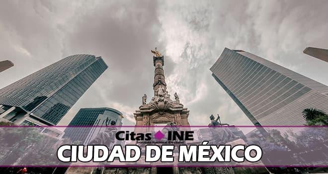 INE Ciudad de México teléfonos y direcciones