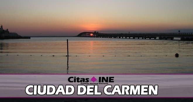 INE Ciudad del Carmen teléfonos y direcciones
