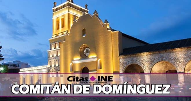 INE Comitán de Domínguez teléfonos y direcciones