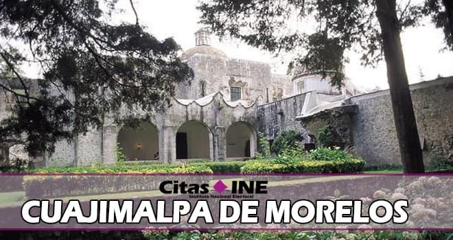 INE Cuajimalpa de Morelos teléfonos y direcciones