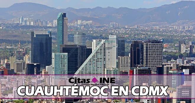 INE Cuauhtémoc cdmx teléfonos y direcciones