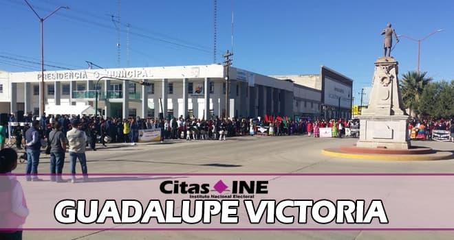 INE Guadalupe Victoria teléfonos y direcciones
