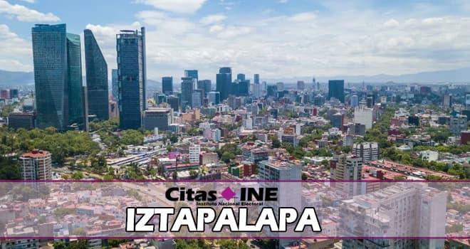 INE Iztapalapa teléfonos y direcciones