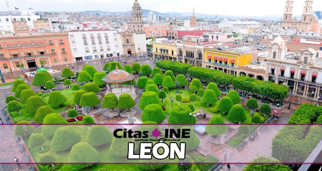 INE León teléfonos y direcciones