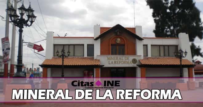 INE Mineral de la Reforma teléfonos y direcciones