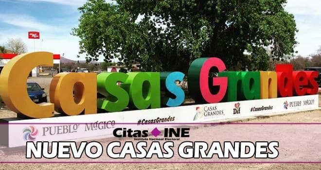 INE Nuevo Casas Grandes teléfonos y direcciones