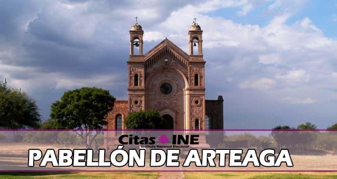 INE Pabellón de Arteaga teléfonos y direcciones