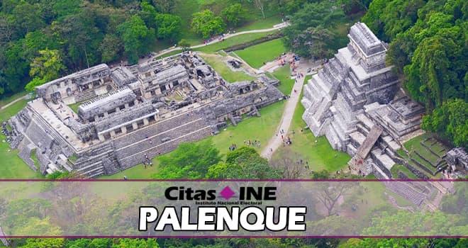 INE Palenque teléfonos y direcciones