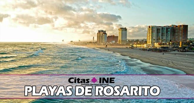 INE Playas de Rosarito teléfonos y direcciones