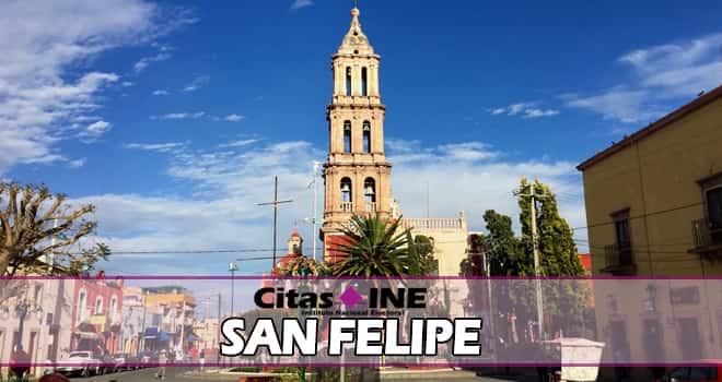 INE San Felipe teléfonos y direcciones