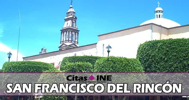 INE San Francisco del Rincón teléfonos y direcciones