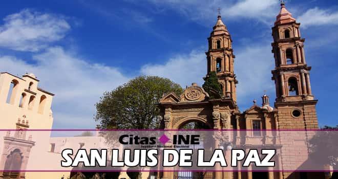 INE San Luis de la Paz teléfonos y direcciones