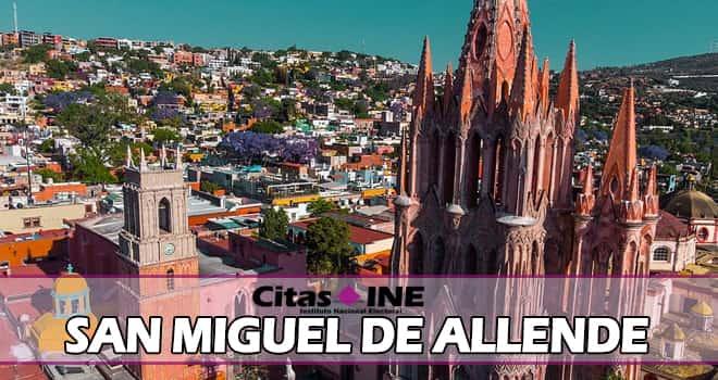 INE San Miguel de Allende teléfonos y direcciones