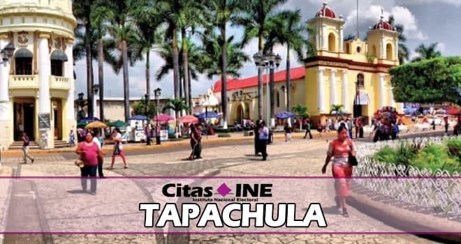 INE Tapachula teléfonos y direcciones