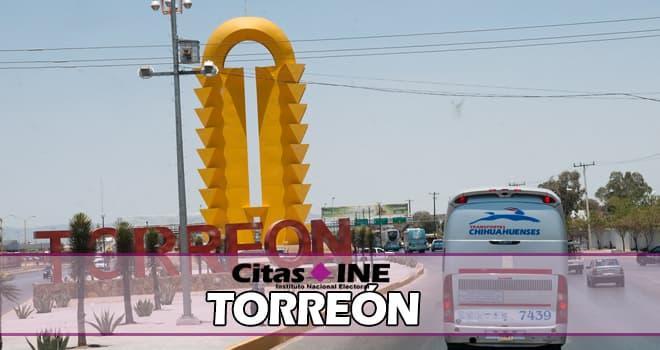 INE Torreón teléfonos y direcciones