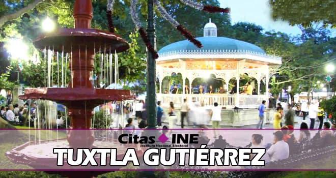 INE Tuxtla Gutiérrez teléfonos y direcciones