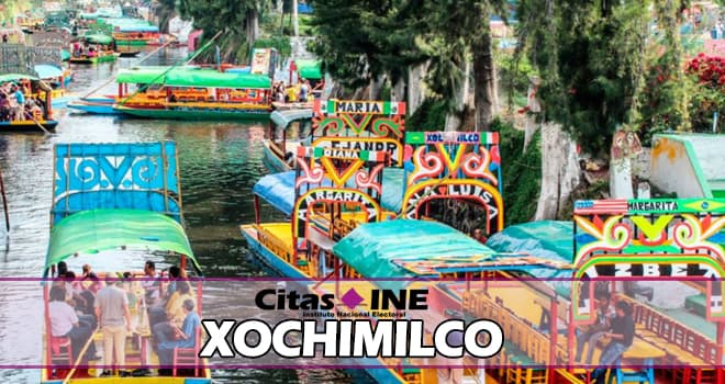 INE Xochimilco teléfonos y direcciones