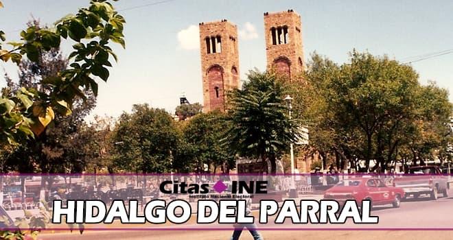 módulo INE Hidalgo del Parral