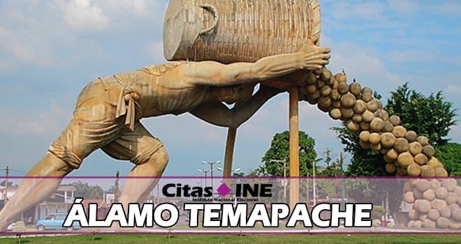 INE Álamo Temapache teléfonos y direcciones