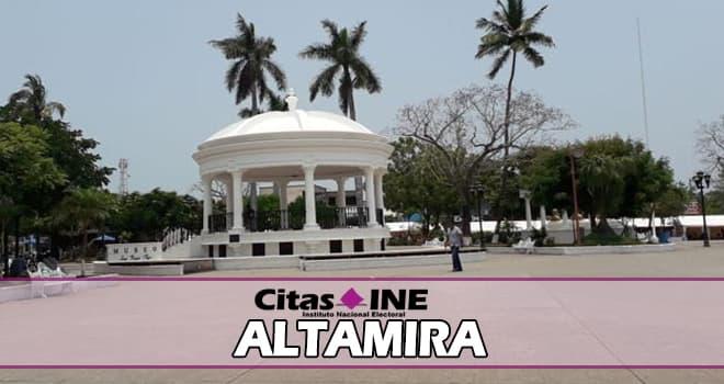 INE Altamira teléfonos y direcciones