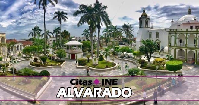 INE Alvarado teléfonos y direcciones