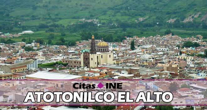 INE Atotonilco el Alto teléfonos y direcciones