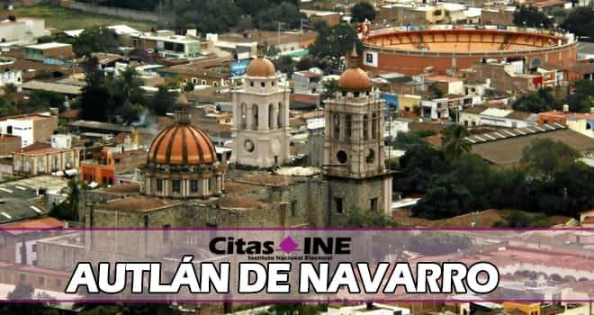 INE Autlán de Navarro teléfonos y direcciones