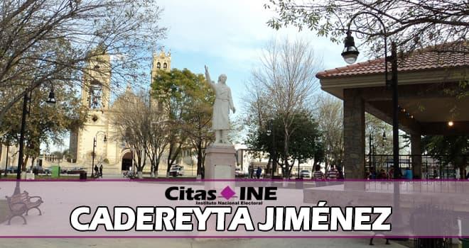 INE Cadereyta Jiménez teléfonos y direcciones