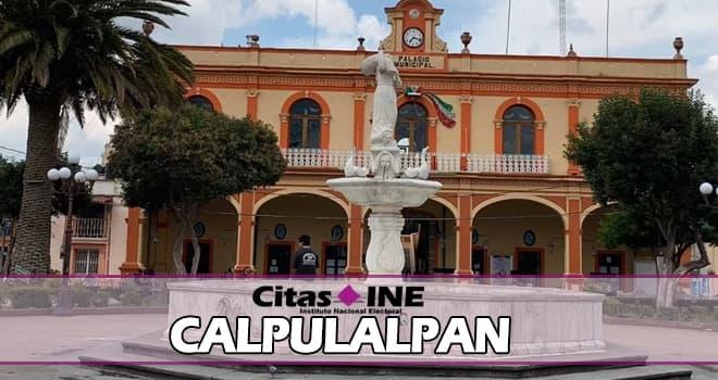 INE Calpulalpan teléfonos y direcciones
