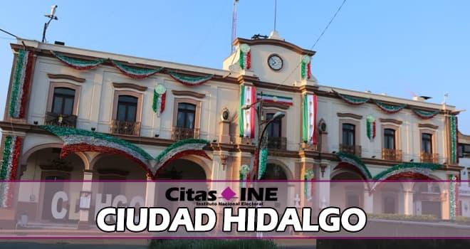 INE Ciudad Hidalgo teléfonos y direcciones