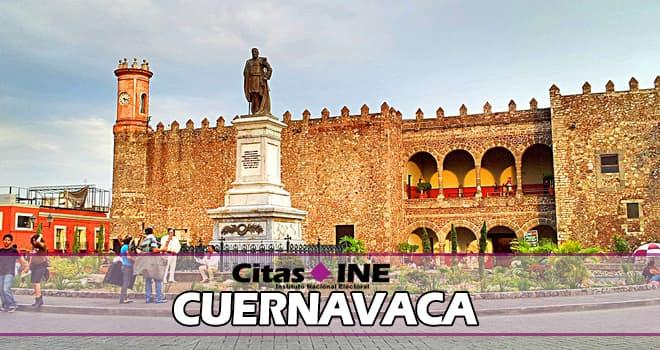 INE Cuernavaca teléfonos y direcciones