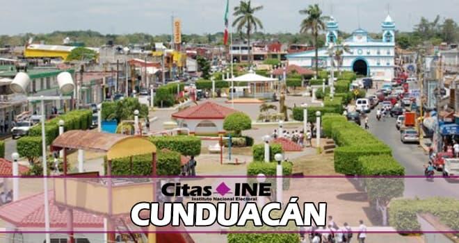 INE Cunduacán teléfonos y direcciones