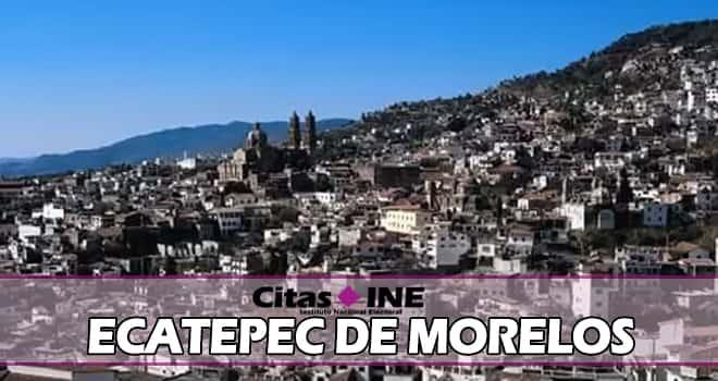 INE Ecatepec de Morelos teléfonos y direcciones