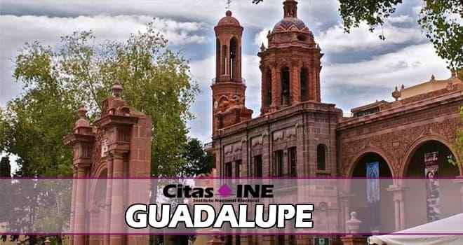 INE Guadalupe teléfonos y direcciones Zacatecas