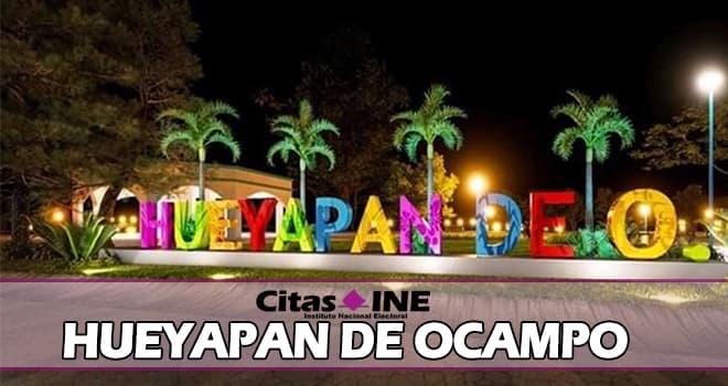 INE Hueyapan de Ocampo teléfonos y direcciones