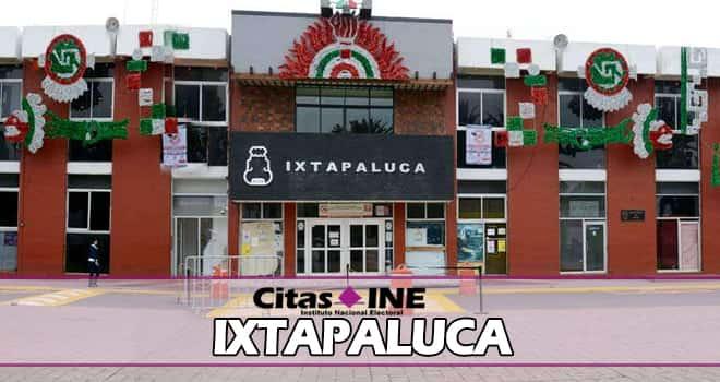 INE Ixtapaluca teléfonos y direcciones