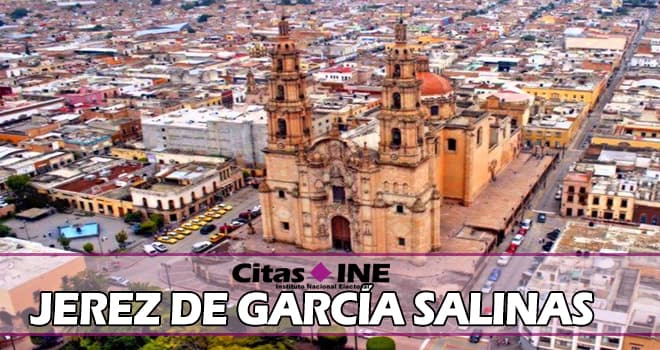 INE Jerez de García Salinas teléfonos y direcciones