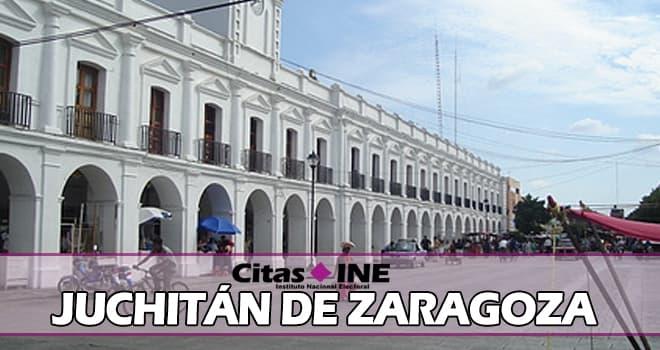 INE Juchitán de Zaragoza teléfonos y direcciones