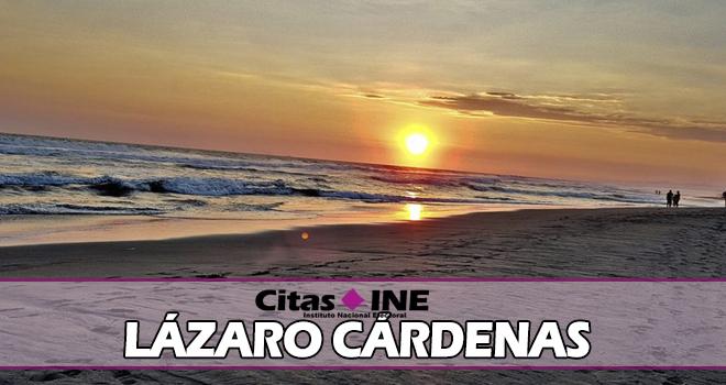 INE Lázaro Cárdenas teléfonos y direcciones