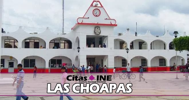 Módulos del INE en Las Choapas – Direcciones, teléfonos y horarios ✍ 1