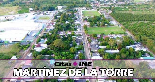 INE Martínez de la Torre teléfonos y direcciones