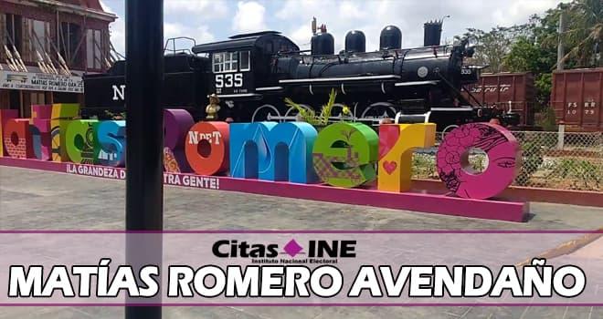 INE Matías Romero Avendaño teléfonos y direcciones