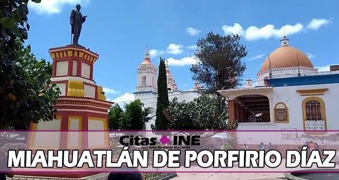 INE Miahuatlán de Porfirio Díaz teléfonos y direcciones