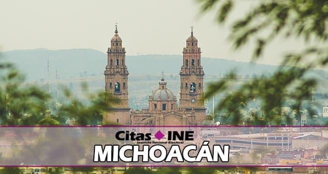 INE Michoacán teléfonos y direcciones