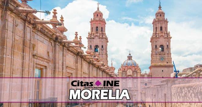 Módulos del INE en Morelia – Direcciones, teléfonos y horarios ✍ 1