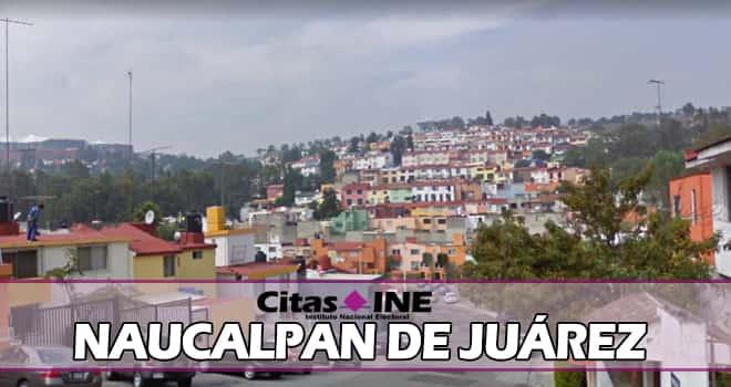 INE Naucalpan de Juárez teléfonos y direcciones